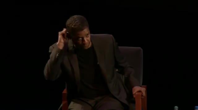 Denzel Deflects SJW Belief. .. my left ear enjoyed this