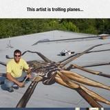 Plane troll