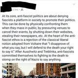 Anti fascist