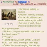 /pol/ack talks to Mormons