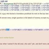 Anon seduces a hungry hobo girl