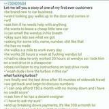 Car salesman on /b/ tells a story