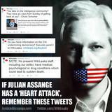 If Julian Assange has a 'heart attack'..