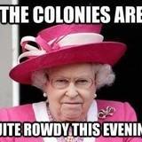 The Queen as spoken.