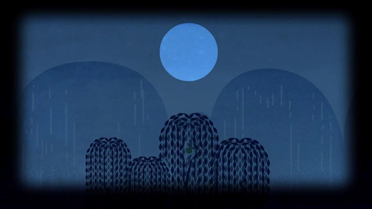 Through the Dark Willows. .