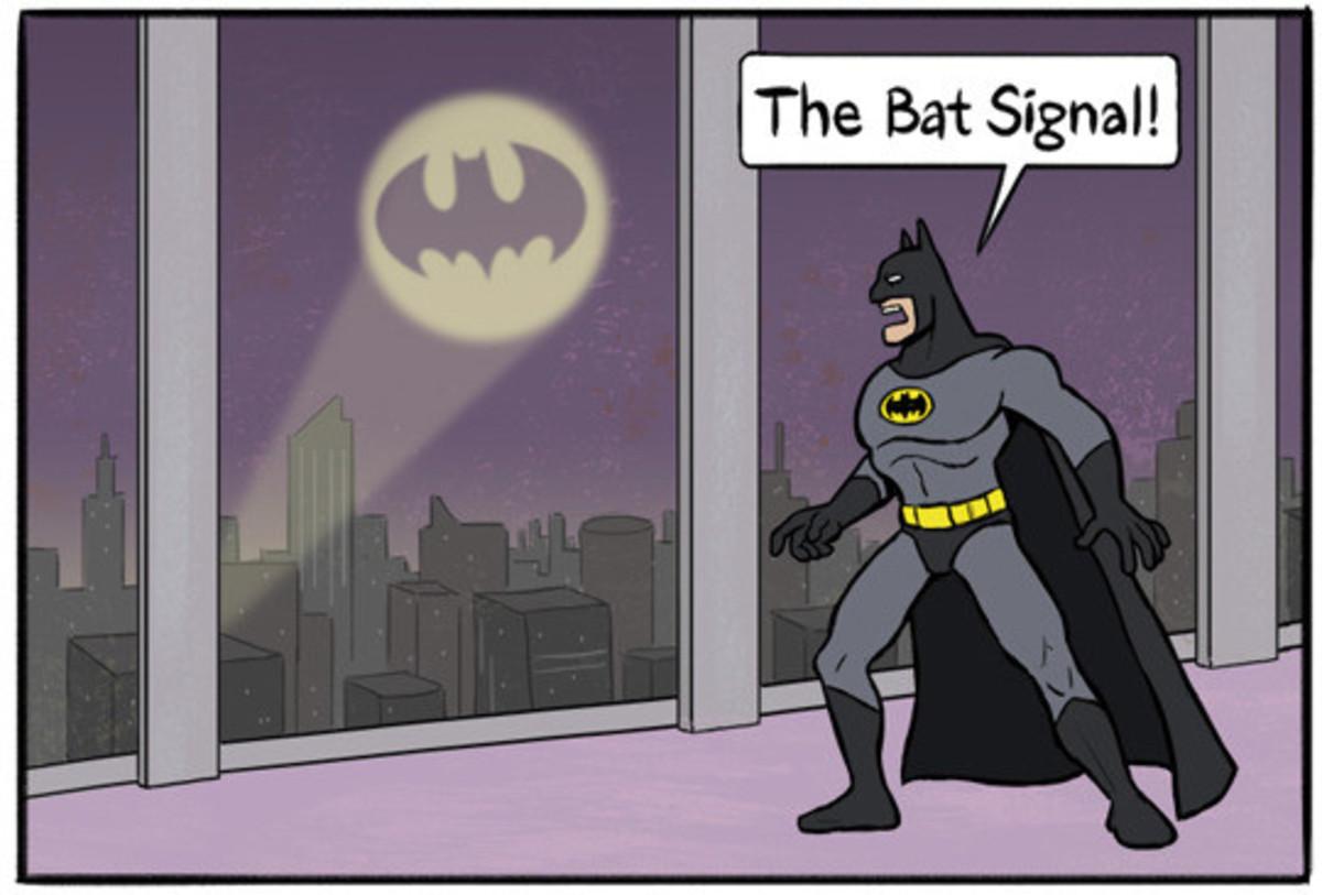 Bat signal. . Bat signal