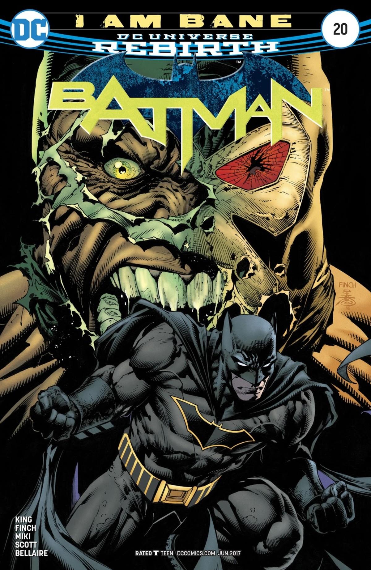 Batman #20. . KING FINCH MIN SCOTT BELLAIRE ' TEEN i: K)( ( yir, t) JUN 2017. all the jokes aside, That was amazing Batman #20 KING FINCH MIN SCOTT BELLAIRE ' TEEN i: K)( ( yir t) JUN 2017 all the jokes aside That was amazing