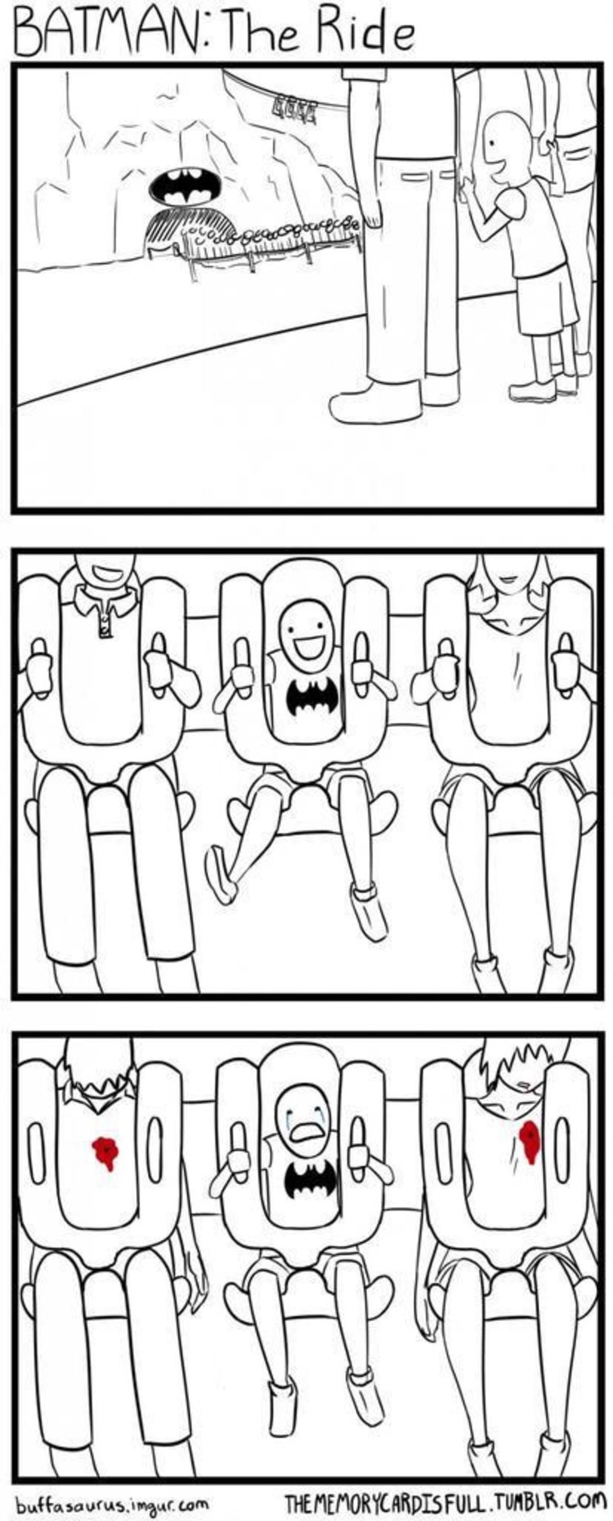 Batman ride. . Batman ride