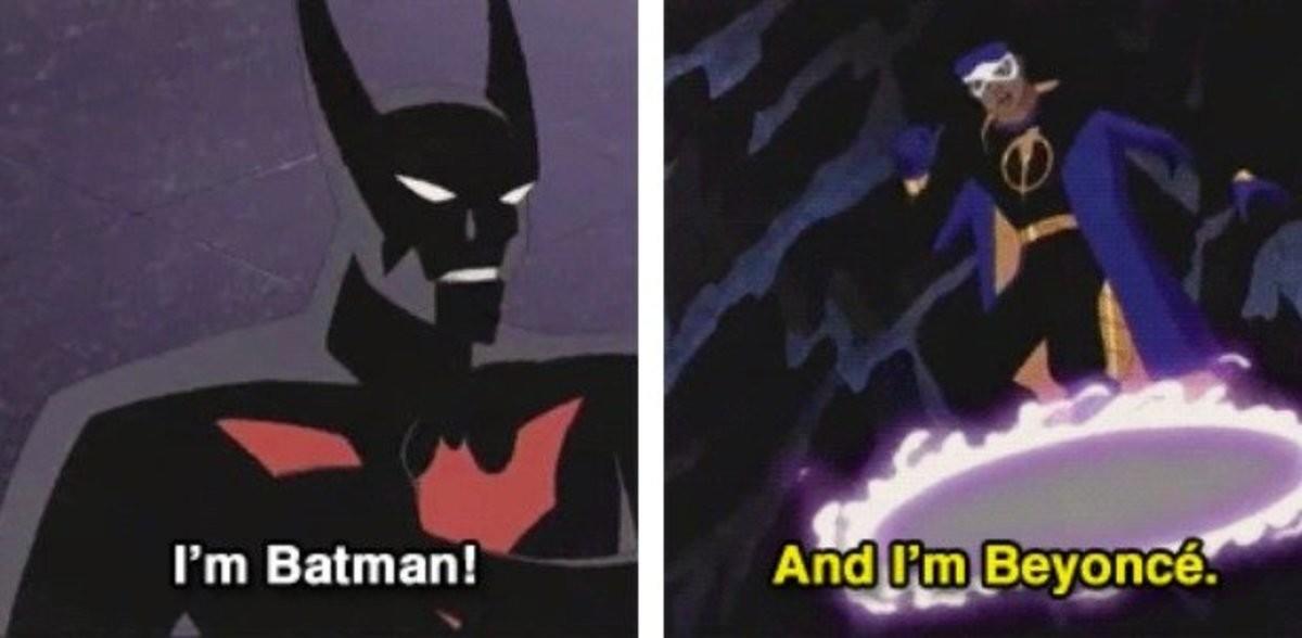 Batman vs Static Shock. .. Batman VS Beyonce Batman vs Static Shock VS Beyonce