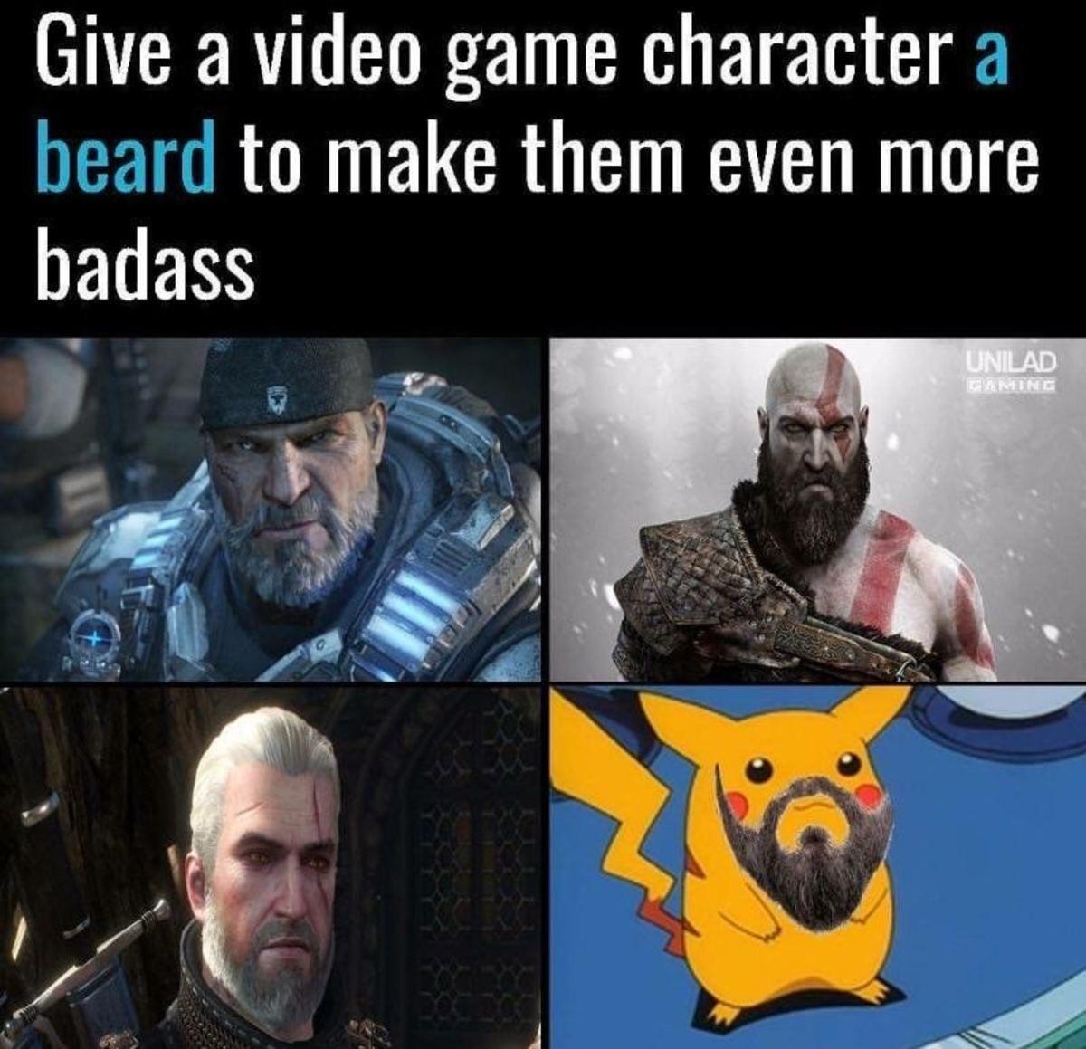 Beards make everything better. . Beards make everything better