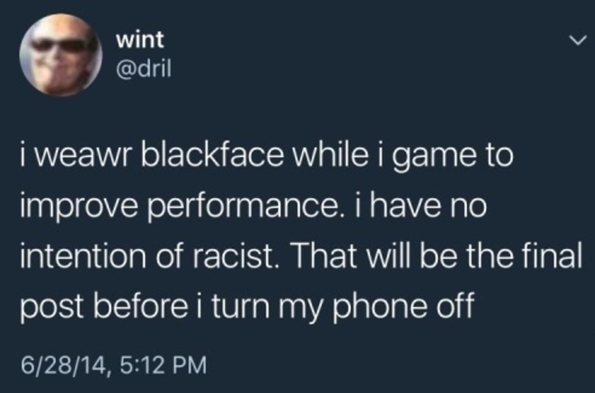 Blackface. . Blackface