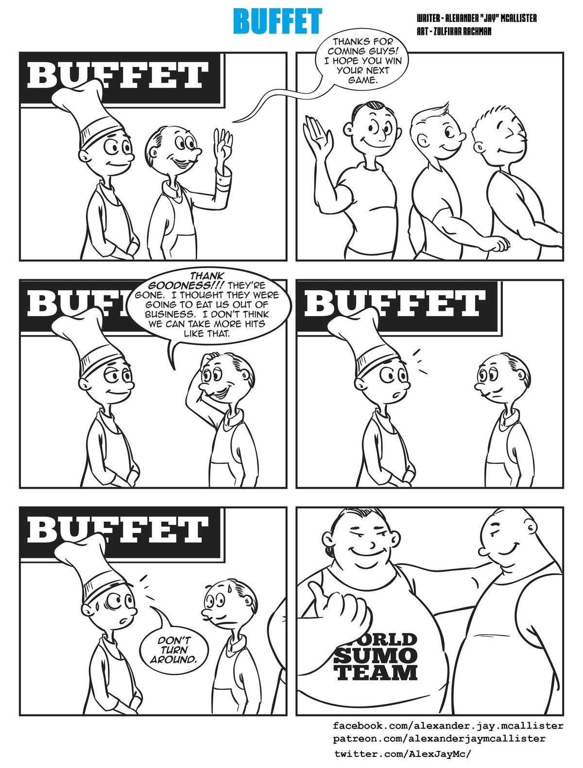 BUFFET. .. Fcking fit fags BUFFET Fcking fit fags