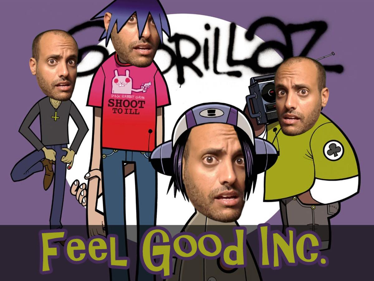 feel good inc. . feel good gorillaz idov shai