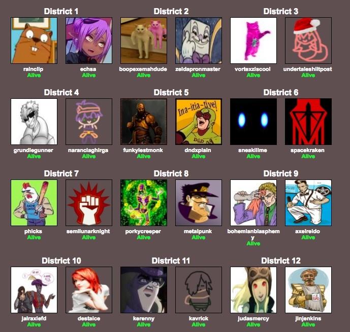 FJ JJBA Hunger games season 2 - part 1!.  That's right folks! we're back and with a brand new FJ JJBA Hunger games season 2 - part 1! That's right folks! we're back and with a brand new