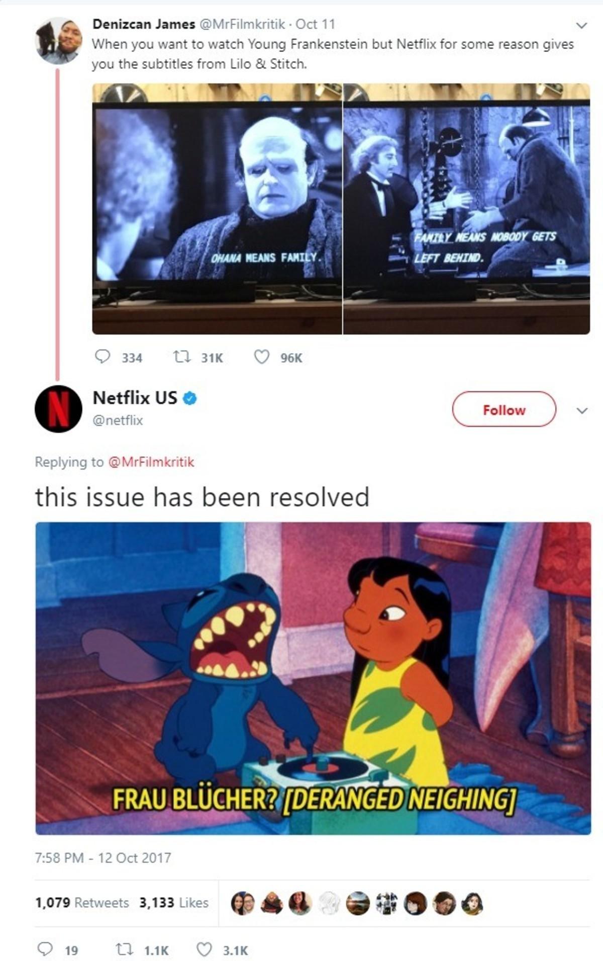 Netflix yes. . Netflix yes