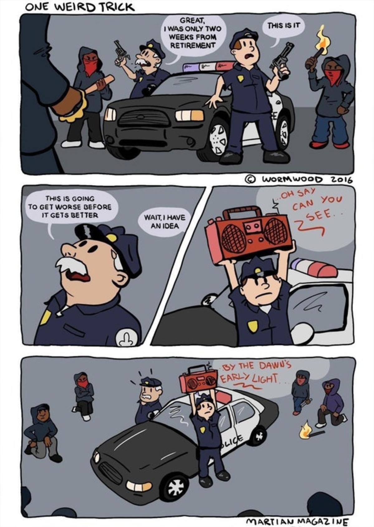 New Police Trick. . New Police Trick