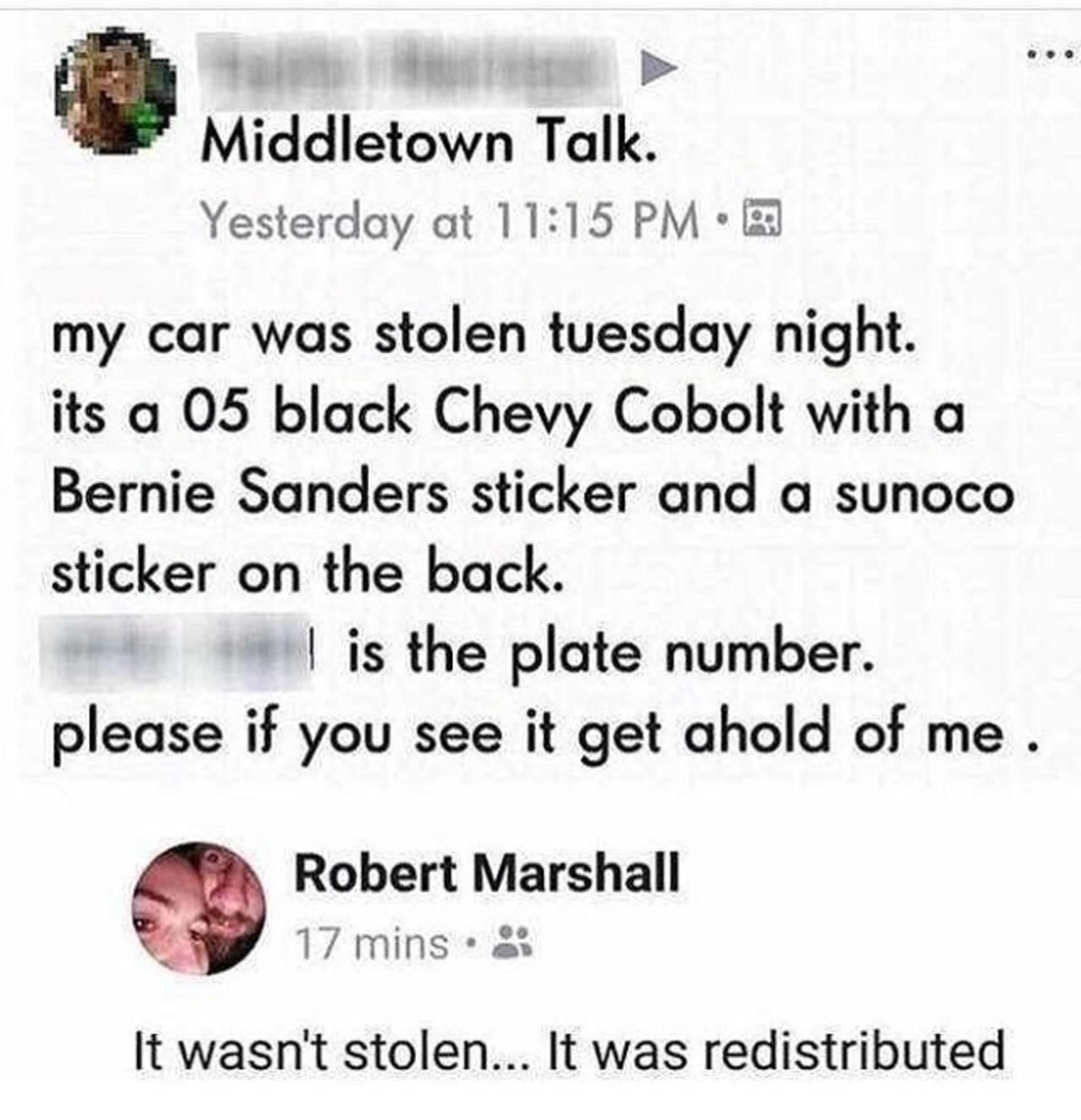 not stolen. .. >2005 cobalt someone did you a favor not stolen >2005 cobalt someone did you a favor