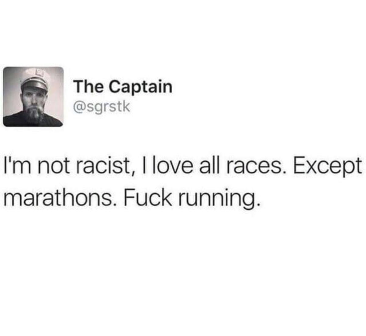 Racist. . Racist