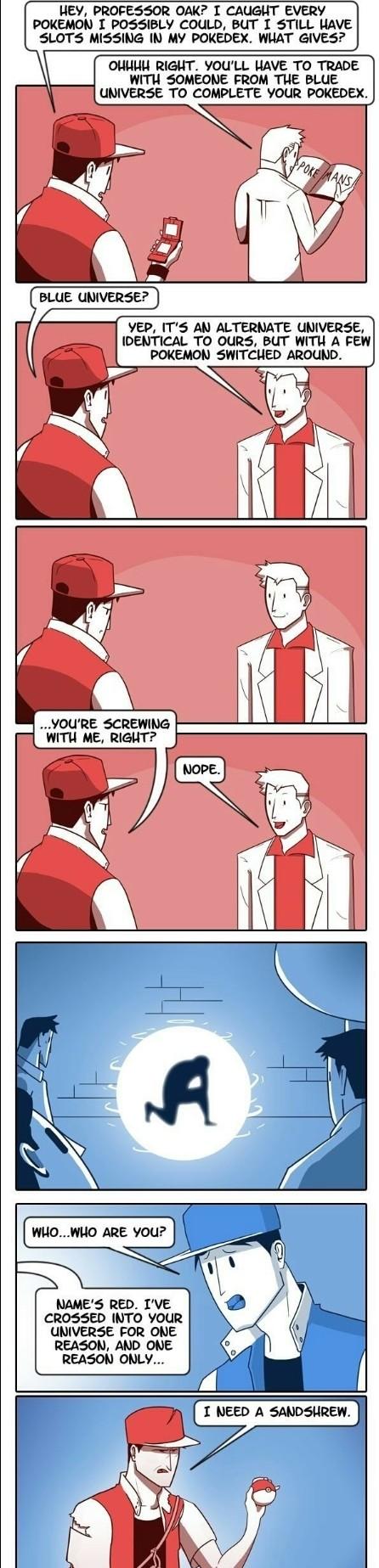 Version differences. .. That's a pretty cool concept Pokemon