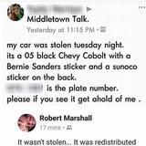 not stolen