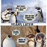 Chadguin steals Grape-kun's wife