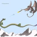 Asian Dragon vs European Dragon #4