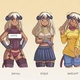 Succubi dressing styles